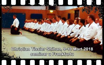 OAK Beograd na Aikido seminaru u Frankfurtu – Christian Tissier Shihan, Mart '18